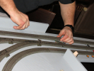 E-Gleis-Einbau